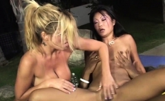 Threesome Becomes Ass Pounding For Lucy Lee