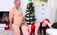 Wild Teen Lovenia Lux Gets Doggystyled By Old Guy