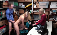 blonde gets the first time she was informed that rigid video