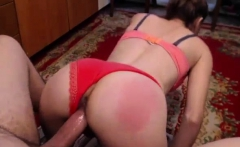 Amateur big ass camgirl gets doggystyle fucking on webcam