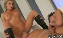 Huge juggs pornstars Aleksa Nicole and Samantha Saint hot