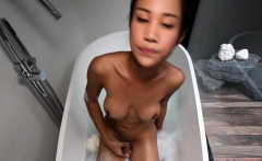 Teen Ladyboy Cartoon Bathing