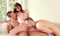 Bisexual studs riding each others dick