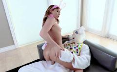 ExxxtraSmall - Hot Easter Bunny Takes A Huge Bunny Cock