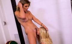 Hot teen bondage with cumshot