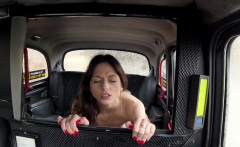 Fake Taxi Hard fucking rocks taxi cab with tight pussy