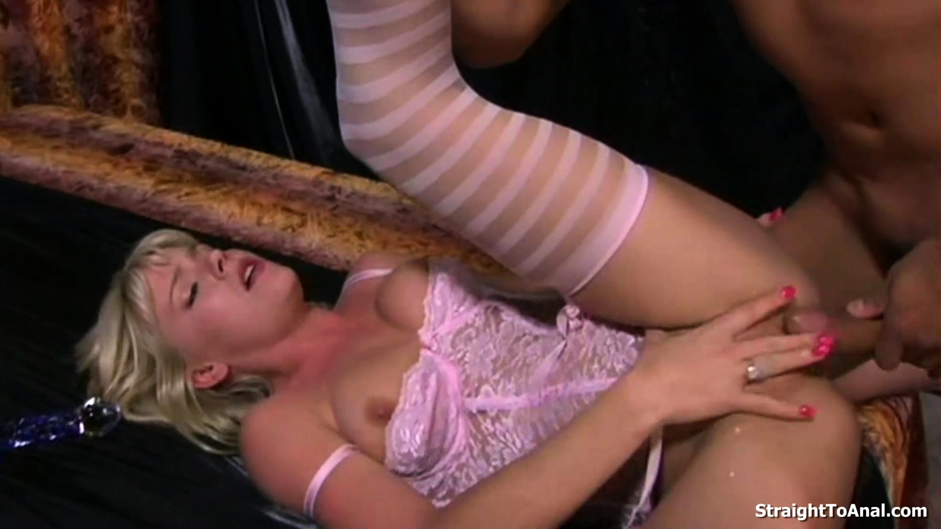 Butt Plug And Dick Fucked Anal Of Missy Monroe