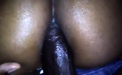 Big ass ebony Thalia Tate takes a big black cock in