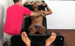 Gay daddy armpit porn Mikey Tickle d In The Tickle Chair