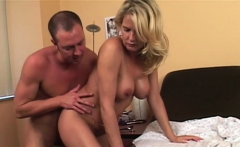 Busty blonde pleases a horny doctor