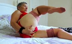 EuropeMaturE Older Lady Seductive Solo Striptease