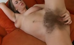 Sexy Hot Hairy Chick Solo
