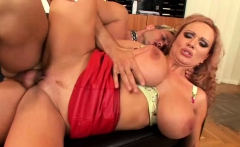 Girl with big tits gets her cunt banged