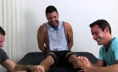 Male nylon gay sex first time Dominic Pacifico Tickled Naked
