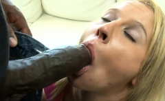 Cut babe pussy and asshole ripped by big black boners