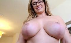 Big tits milf seduction and cumshot