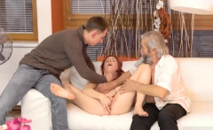 Teen threesome two girls blowjob first time Unexpected pract
