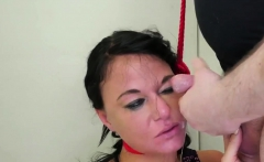 Water bondage and squirting Talent Ho