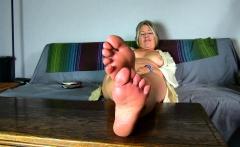 Mature foot shoe fetish 2