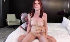TS Lena Kelly and Alex Harper hardcore sex and cumshot
