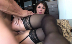 Stiff cock pleases her the most