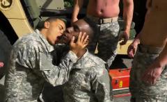 Army men licking dicks and medical visit gay porn military R