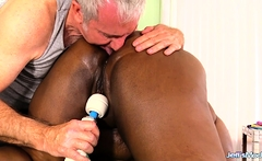Black Plumper Olivia Leigh Hot Massage