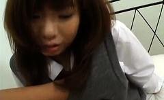 Babe in uniform Misa Kurita - More at hotajp.com