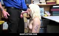 ShopLyfter - Blonde Teen Gets Caught And Banged