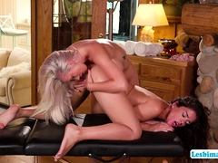 Kinky Victoria And Emily Enjoys 69 Position Pussy Licking