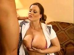Sexy Milf With Big Boobs Teasing On Webcam