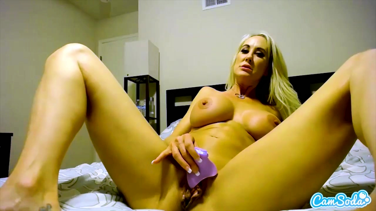 CamSoda - Brandi Love Big Tits Bedroom Masturbation Orgasm