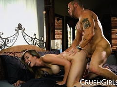 Big Tit Blonde Brett Rossi Gets Fucked Deep