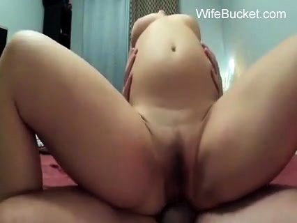 Watch My Wife Riding My Cock