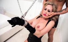 Dirty pornstar Katrina enjoys a hot BDSM anal bang