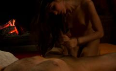 Indian Relaxing But Arousing Handjob and Blowjob too