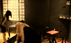Femdom humiliation in the dungeon