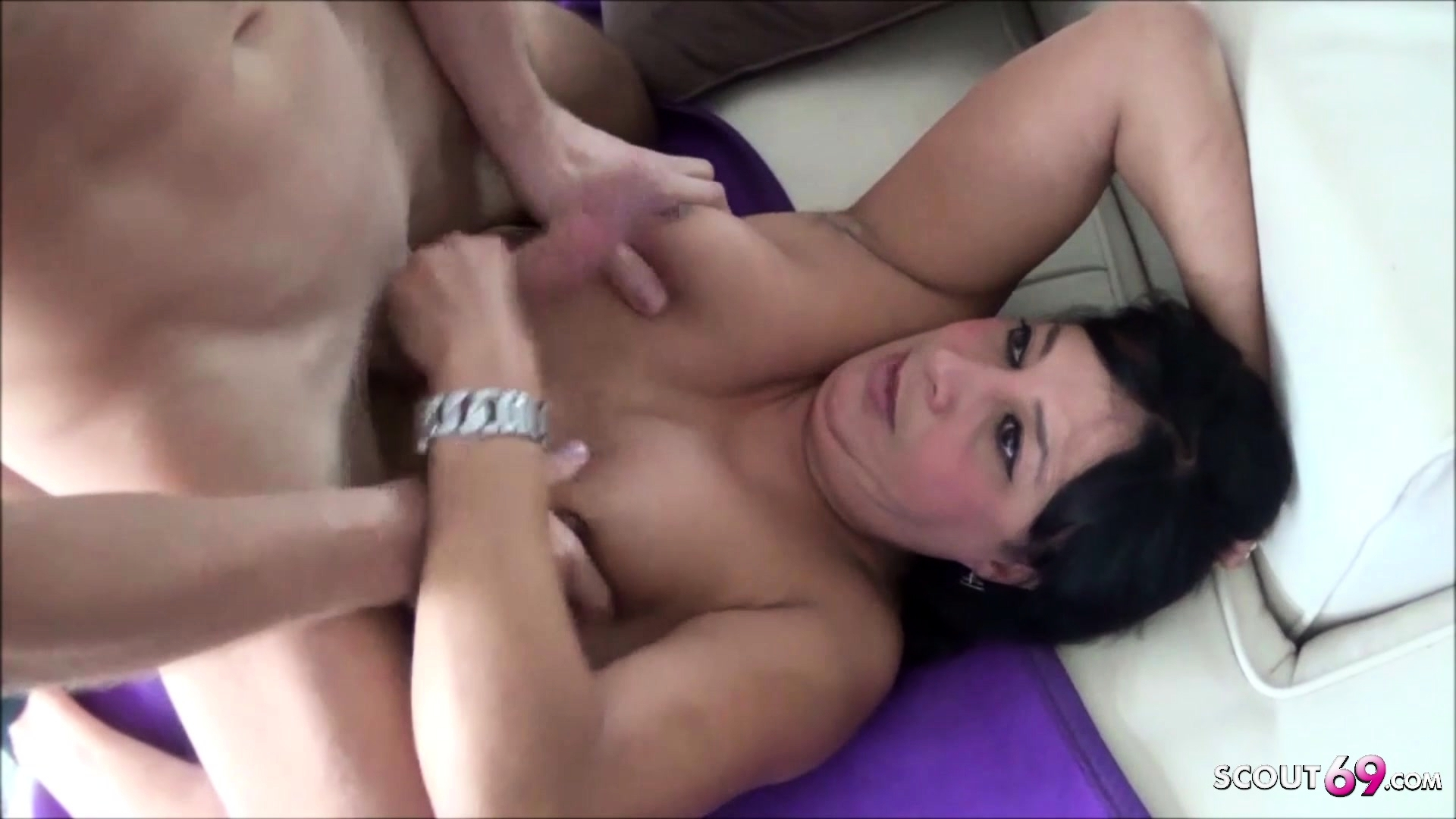 fingering while jerking off