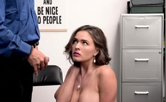 Officer Marcus disarms Krissy with sex