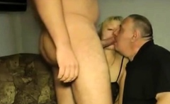 German cuckold and creampied