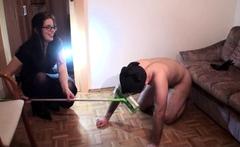 Femdom Cleaning Slaves