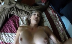 Hot girl with her bush colored blonde for me!