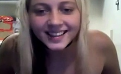Amateur blonde hot showing body (NO SOUND)