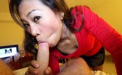 Asian Upskirt Fuck