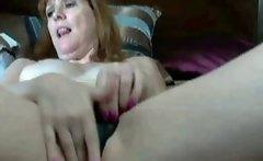 Home orgasm Australian redhead 50 years