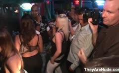 Sexy brunette babes get horny dancing