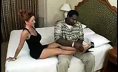Lovely mature amateur milf wife interracial cuckold foot