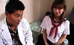 HOt brunette asian teen slut with sexy
